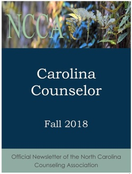 Carolina Counselor Fall 2018 cover