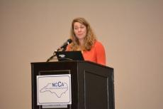 Allison Crowe - NCCA Past President