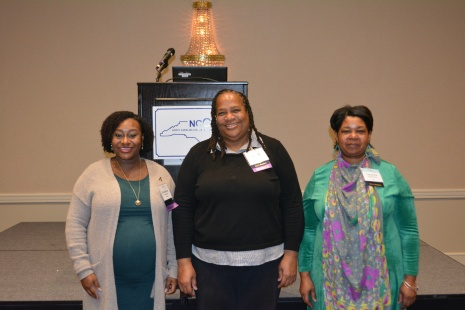 2019-20 Incoming Officers:Dominique Hammond, Vickey Maclin, Cassandra Acheampong