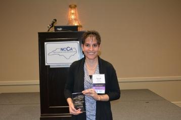 Sarah Mehta - Beginning Counselor Award