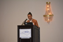 Shenika Jones NCCA Pres