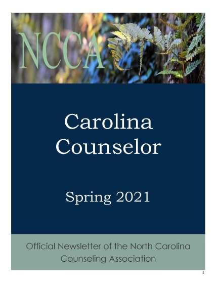 2021 Spring Carolina Counselor